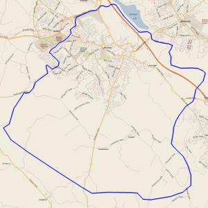 Leaflet Distribution map for Hamilton ML3
