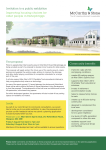 McCarthy & Stone Newsletter Front