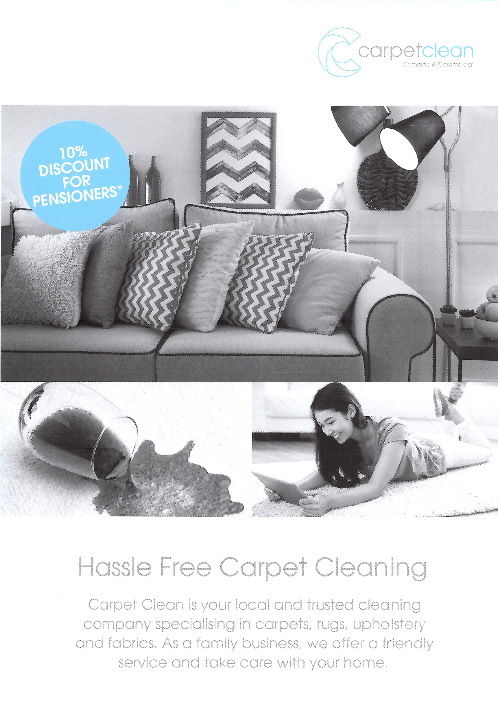 Carpet Clean Leaflet