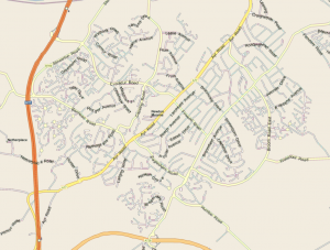 Leaflet Distribution Area Map Newton Mearns