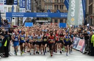 10k run in Glasgow