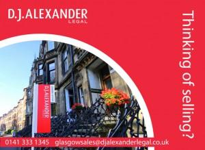 Front leaflet designed for estate agent