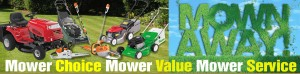 Mown Away Leaflet Campaign for Hamilton Brothers