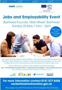 Employability Leaflets for East Renfrewshire