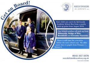 Front of Kelvinside Academy Leaflet