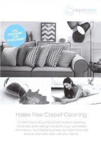 Carpetclean Leaflet
