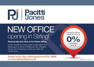 Pacitti Jones Estate Agents Stirling Office Leaflet