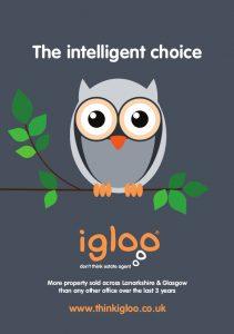 Igloo Estate Agent Hamilton leaflet Front