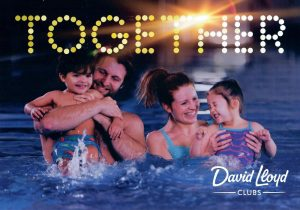 Front of leaflet promoting David Lloyd Health Club January 2017