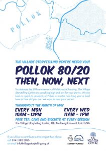 Front of a leaflet printed and distributed in the Pollok area of Glasgow By 2112 Direct Marekting