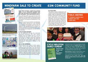 Inside of Neilston Development Trust Newsletter