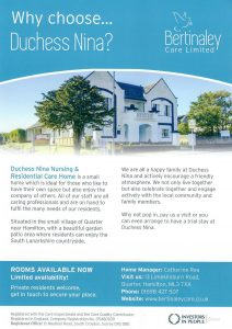 Duchess_Nina_Leaflet_Distributed_South_Lanarkshire