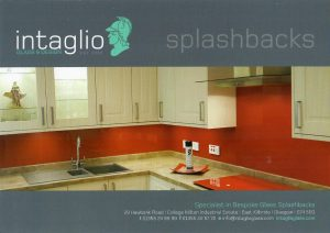 Front of Intaglio Glass Leaflet distributed by 2112 Leaflet Distribution