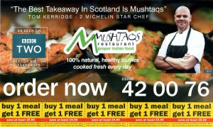 Mushtaq's Hamilton New Menu