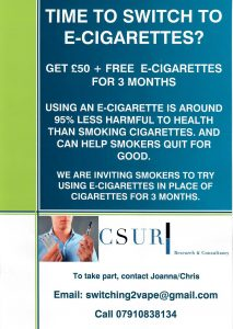 CSUR Leaflet distributed in Maryhill and Clydebank