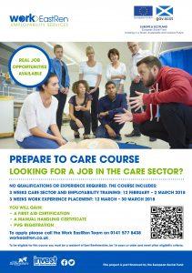 Work EastRen Care Sector Leaflet