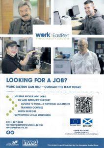 Work EastRen Job Search Leaflet
