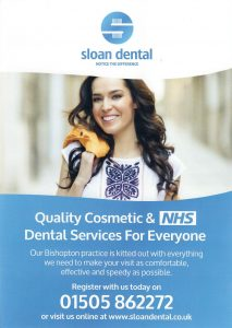 Sloan Dental Leaflet