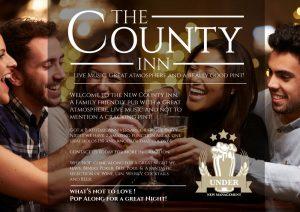 County Inn Cambuslang leaflet