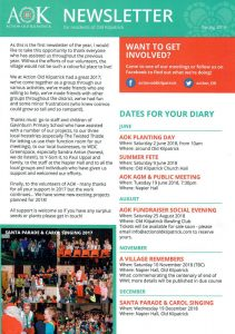 Action Old Kilpatrick Newsletter Distributed