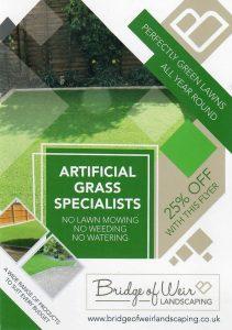 Bride of Weir Landscaping Leaflet