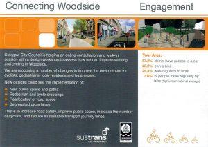 Connecting Woodside Glasgow Engagement Leaflet