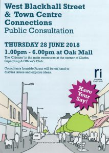 Leaflet Distributed in Greenock Advising People of aPublic Consultation