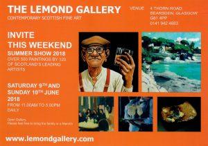 Leaflet Promoting Lemond Summer Show