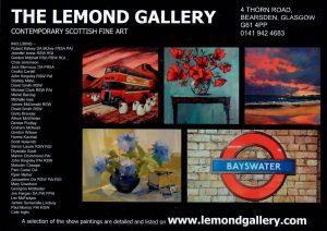 Lemond Art Gallery Leaflet